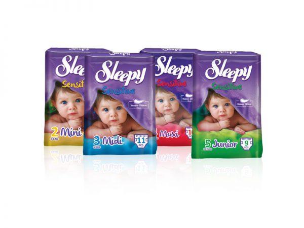 Sleepy Sensitive STD pelenkák