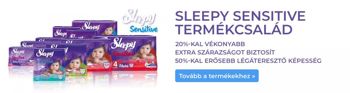 Sleepy Sensitive termékcsalád